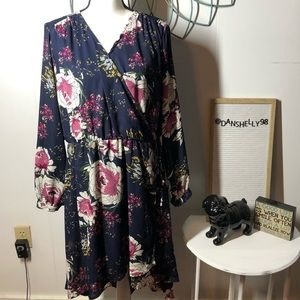 Maurice's High-Low Floral Dress